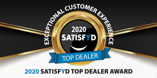 2020 SATISFYD Top Dealer Award